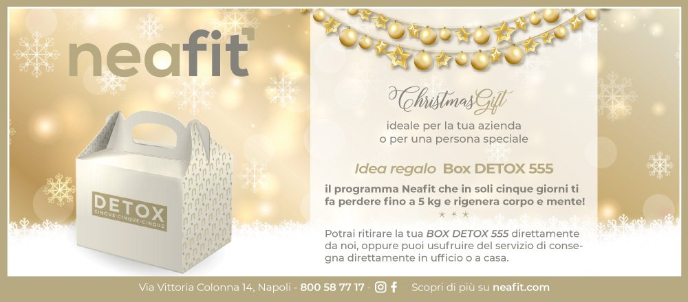 box detox 555 idea regalo per natale neafit